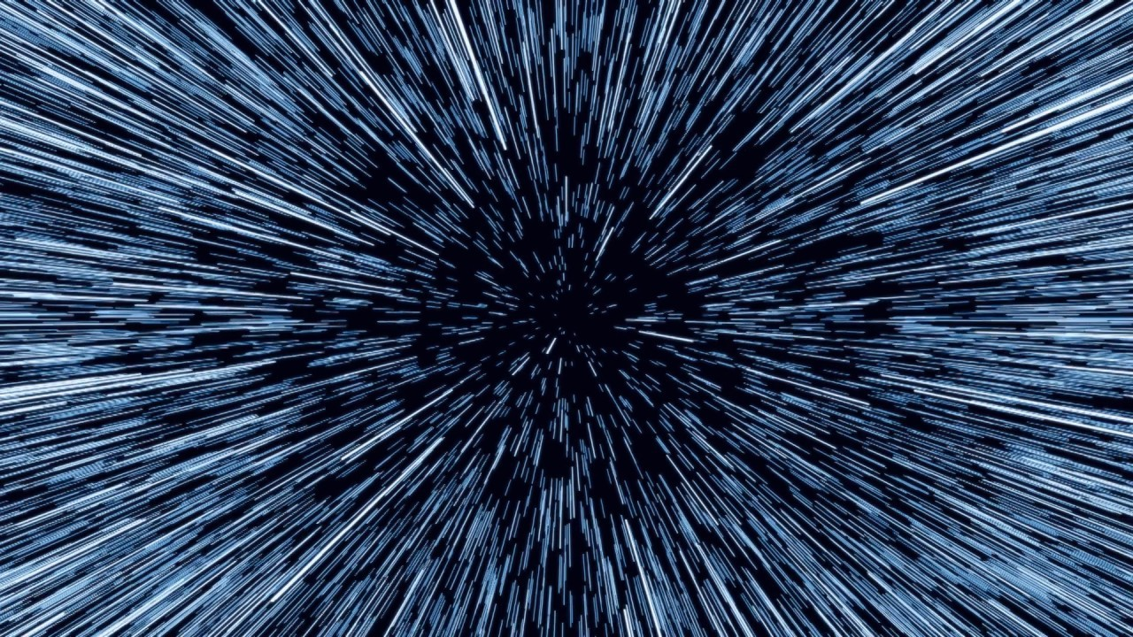 Star Wars Wormhole Hyperspace Jump