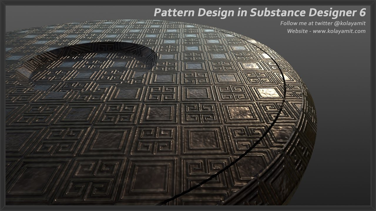 Pattern Design in Substance Designer 6