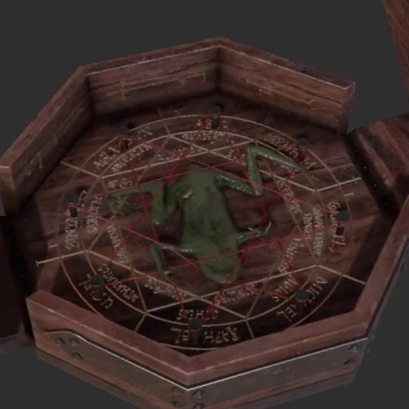 'Witchfinder' props