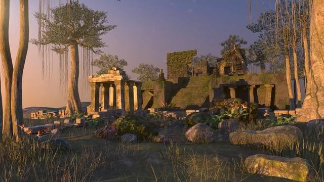 Ancient Ruins: Environment