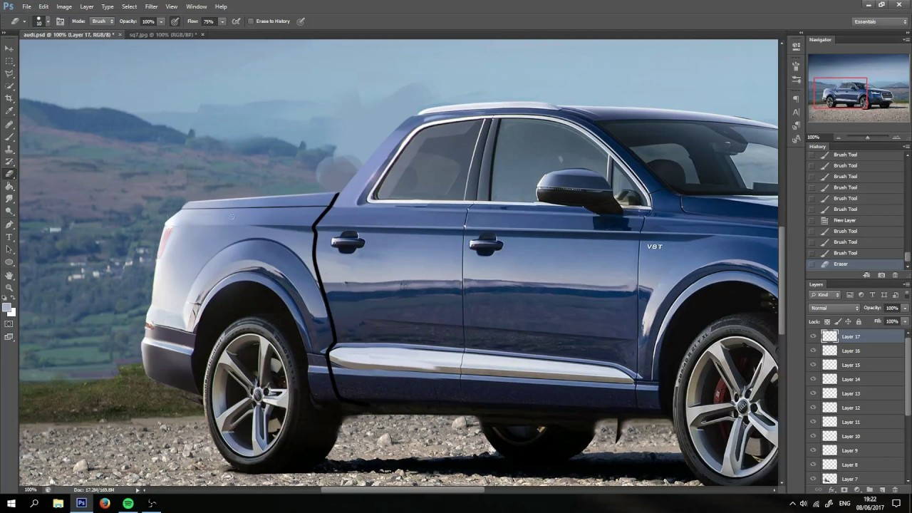 Rain Prisk Audi Q7 Gt Pickup Video