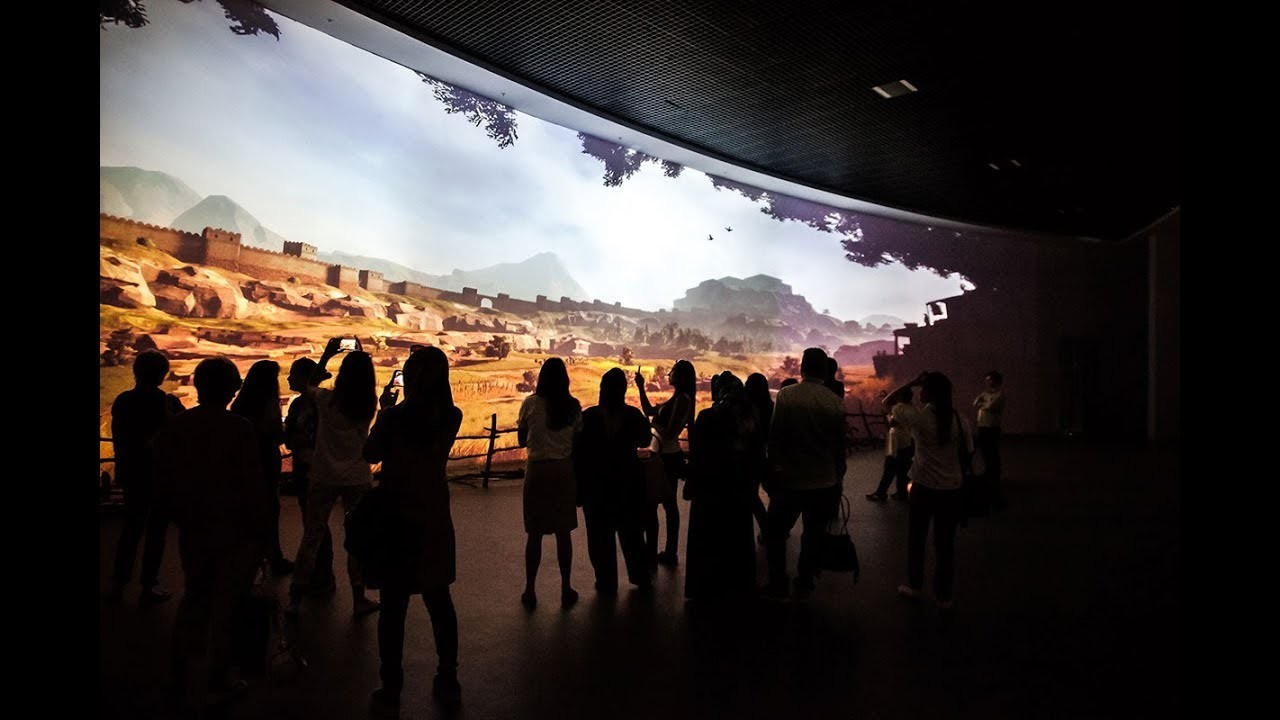 The Hittite Village, Interactive Installation