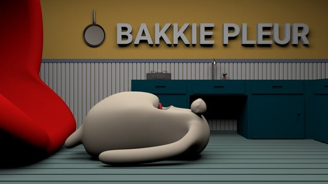 Bakkie Pleur 3D animated short