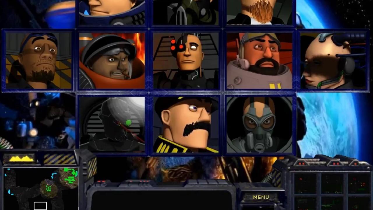 Alexandre Cantin - StarCraft Brood War - Terran Portraits - What if 3D