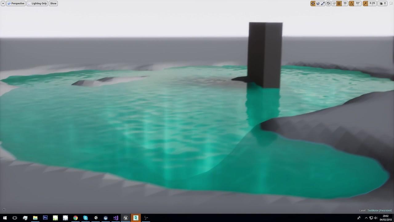 ArtStation - Water Caustic Raymarching - UE4 - WIP, Marien