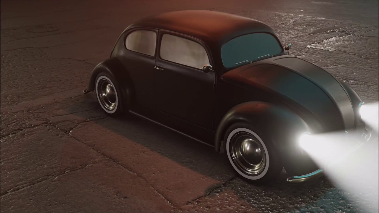 VW BEETLE 1954 REALTIME