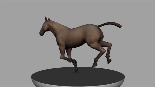 Horse Gallop turntable