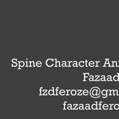 Spine Character Animation Reel