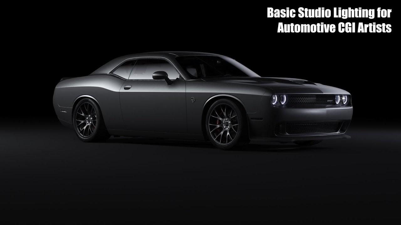 Basic Automotive Studio Lighting