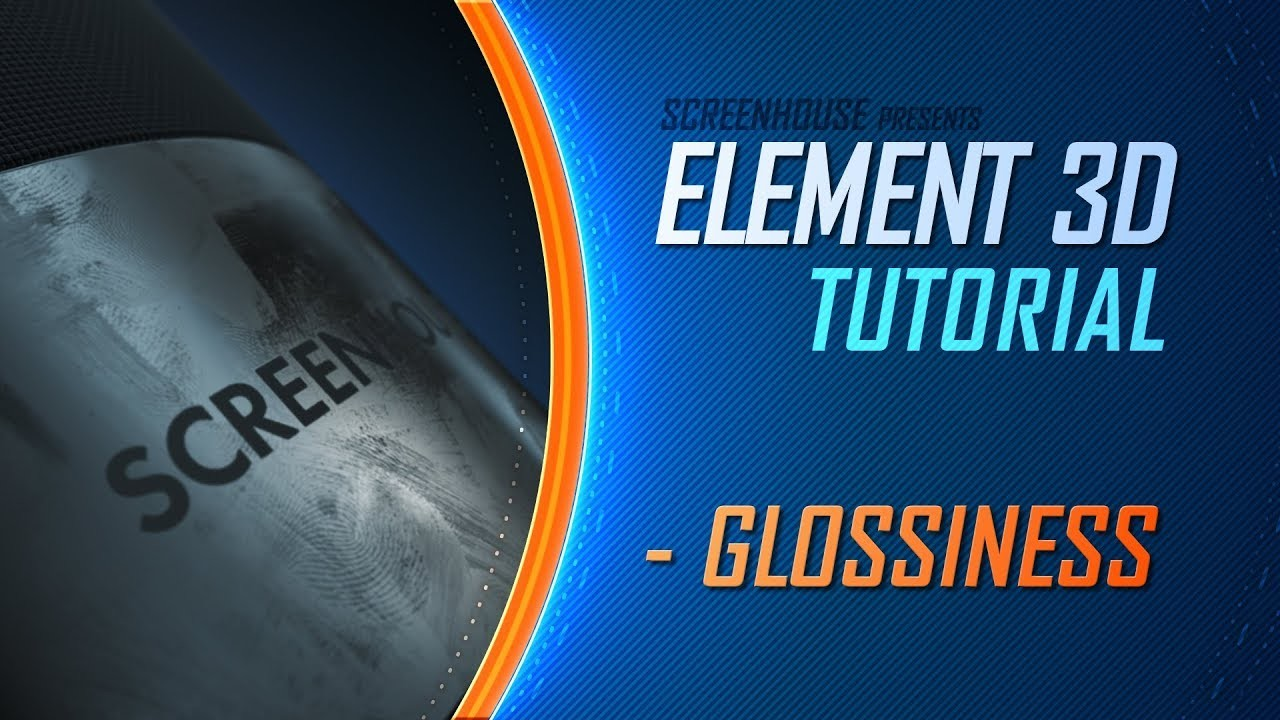 ELEMENT 3D Tutorial - Texturizado