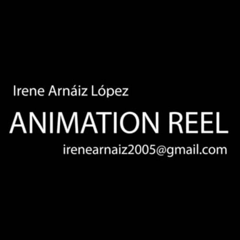 Animation Reel Irene Arnaiz Lopez 2018