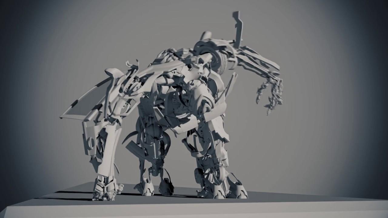 Transformer Rig/Animation