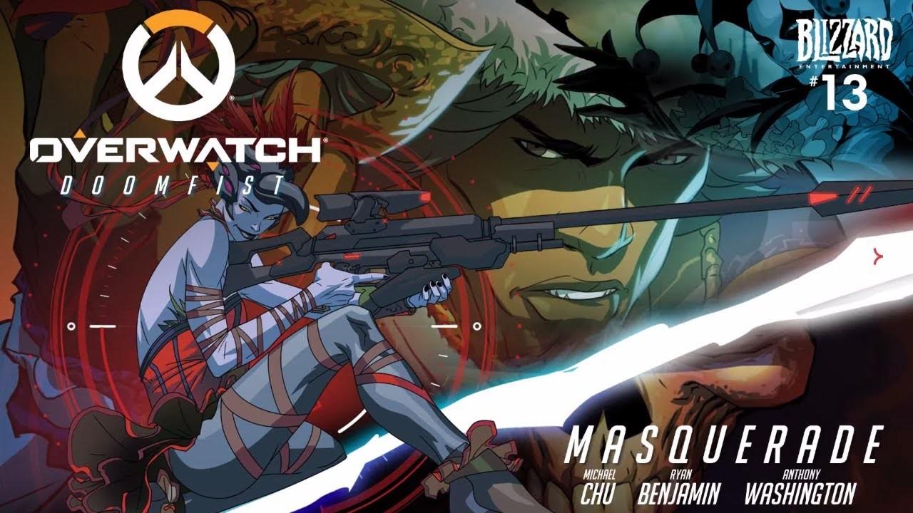 Overwatch-Doomfist Motion Comic