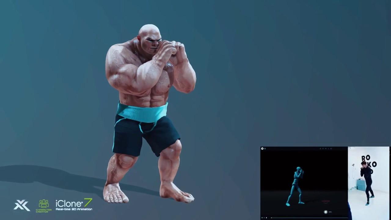 iClone7 - Rokoko Smartsuit Pro - Test