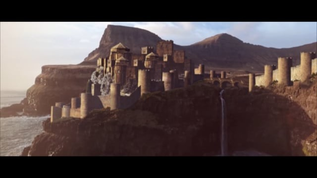 Game of Thrones style castle
