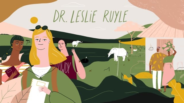 Lead By Example - Leslie Ruyle