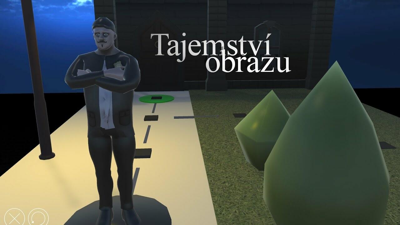 Tajemství obrazu - concept game