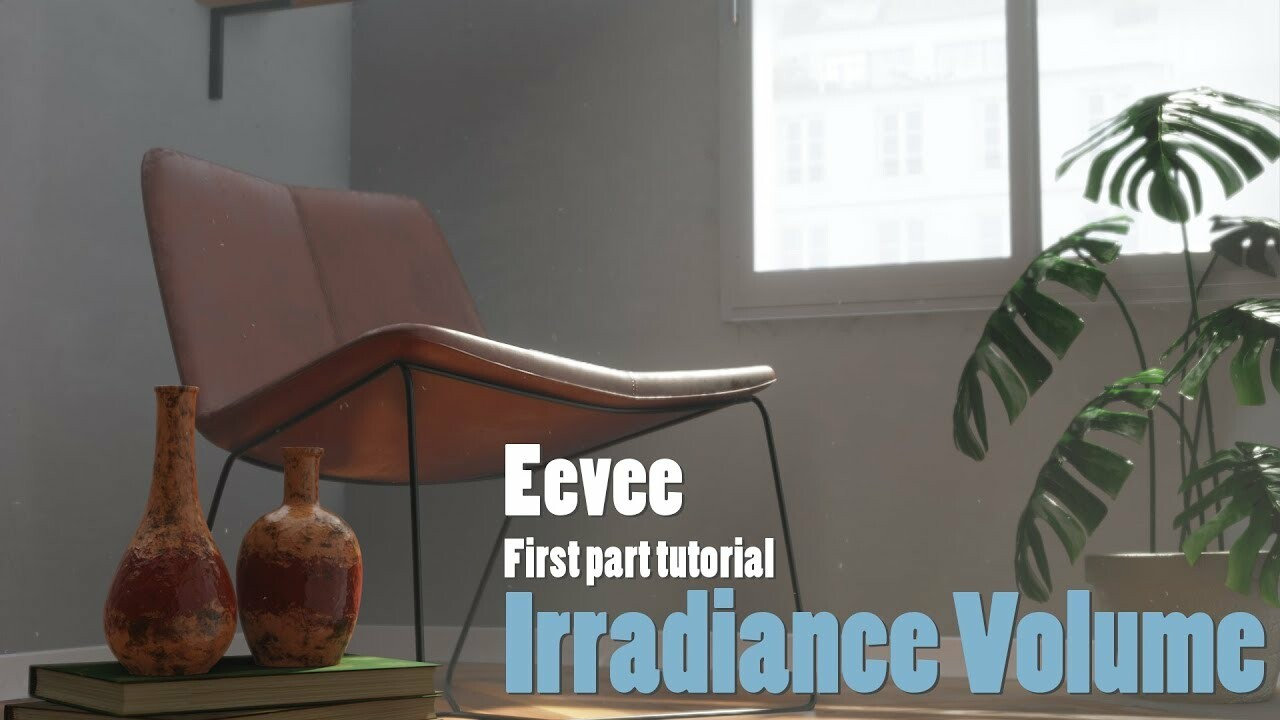 Eevee Tutorial - Irradiance Volume Probe - Blender 2.80