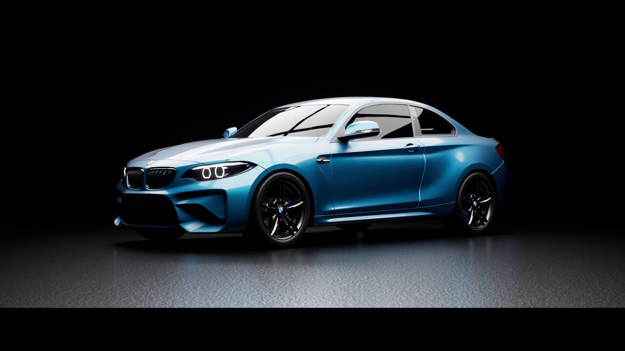 Unreal Engine 4 BMW - Ray Tracing Tech Demo