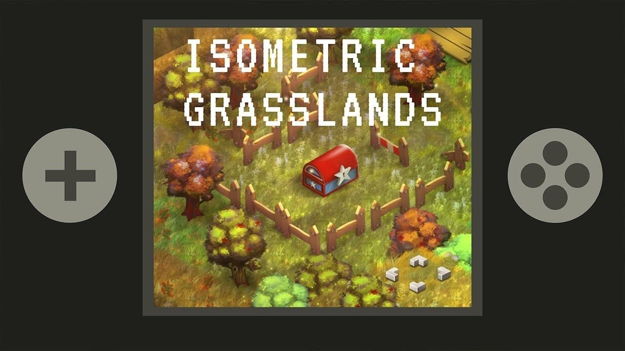 ArtStation - Isometric Grasslands, Jacky Martin