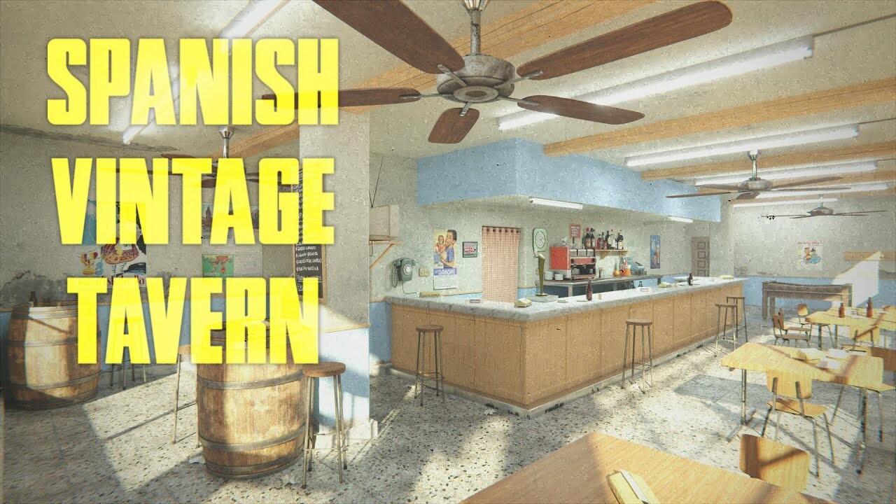 Spanish vintage tavern