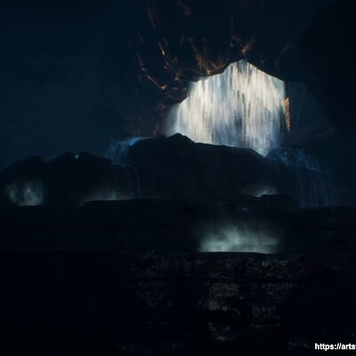 VFX Waterfall Effect