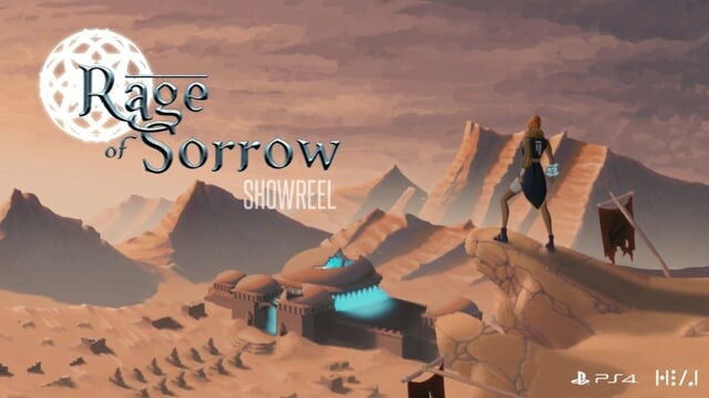 Rage of Sorrow - Rig and animations