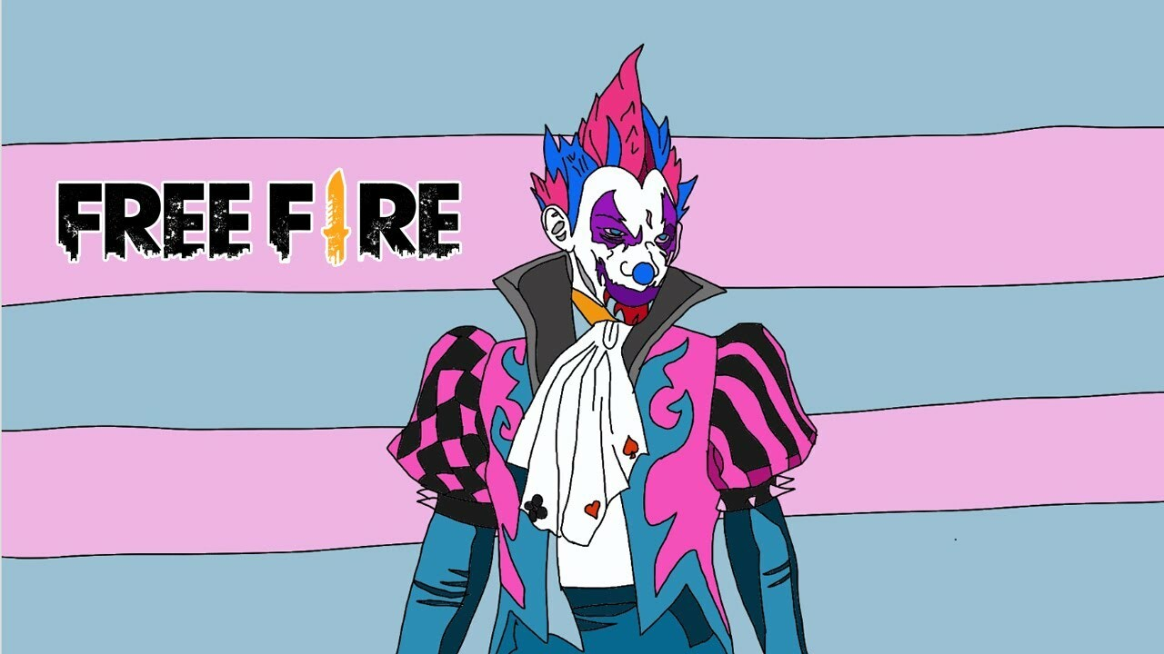 ArtStation - gambar free fire : how to draw joker - game free fire, Tr???n ????t