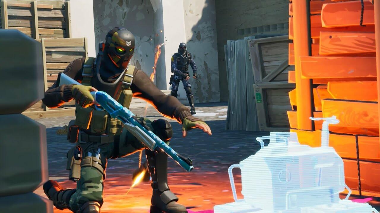 Fortnite Creative Dust 2 S&D Trailer - Team Evolve
