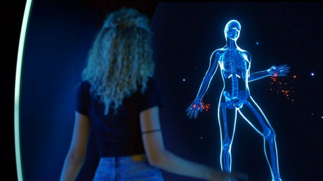 Beautiful Inside - Kinect Body Tracking Experience