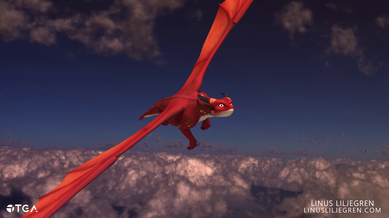 Animation | Dragon Flying