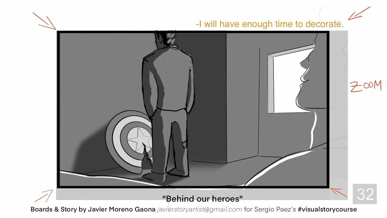 Behind our Heroes- Animatic