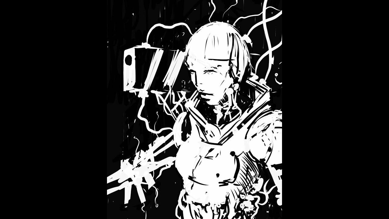 Sketching on my phone//01