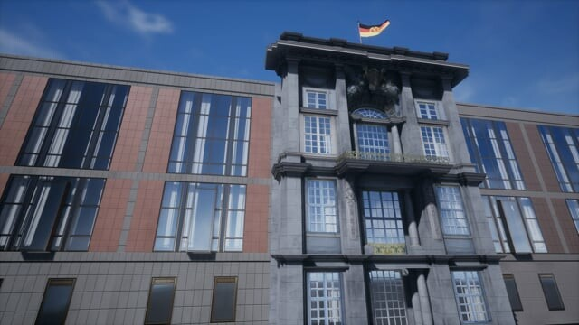 Buildings for a VR project in Berlin