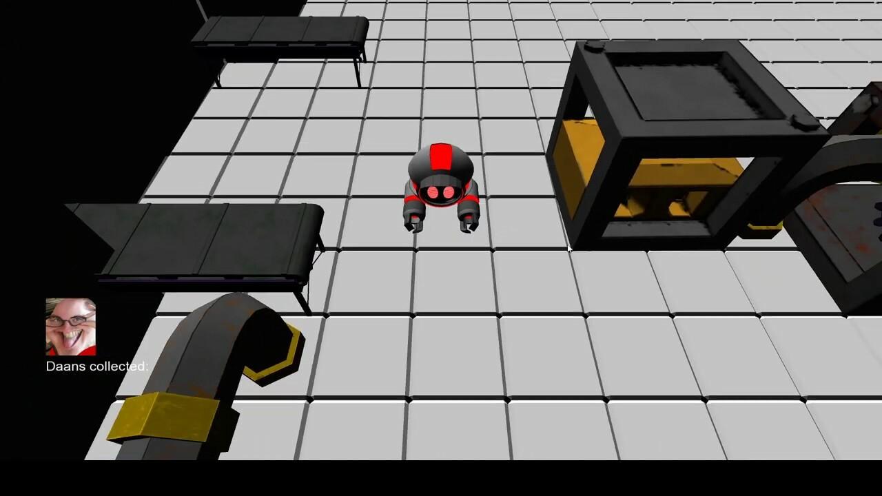 Custom Engine game -Run away Ray