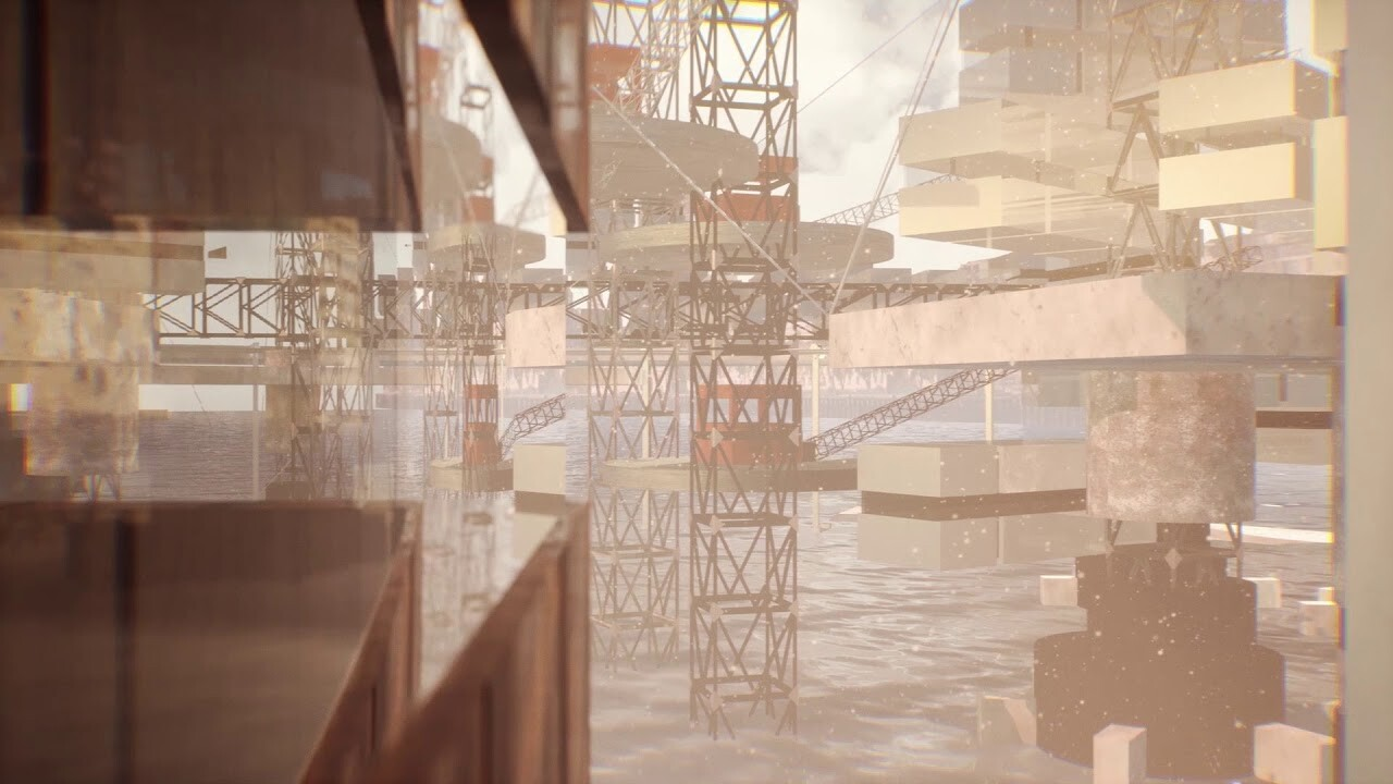 CONSTRUCTING THE LONDON ARCHITECTONS - (STUDYING UE4) - Thesis Project Part A (semester 1)