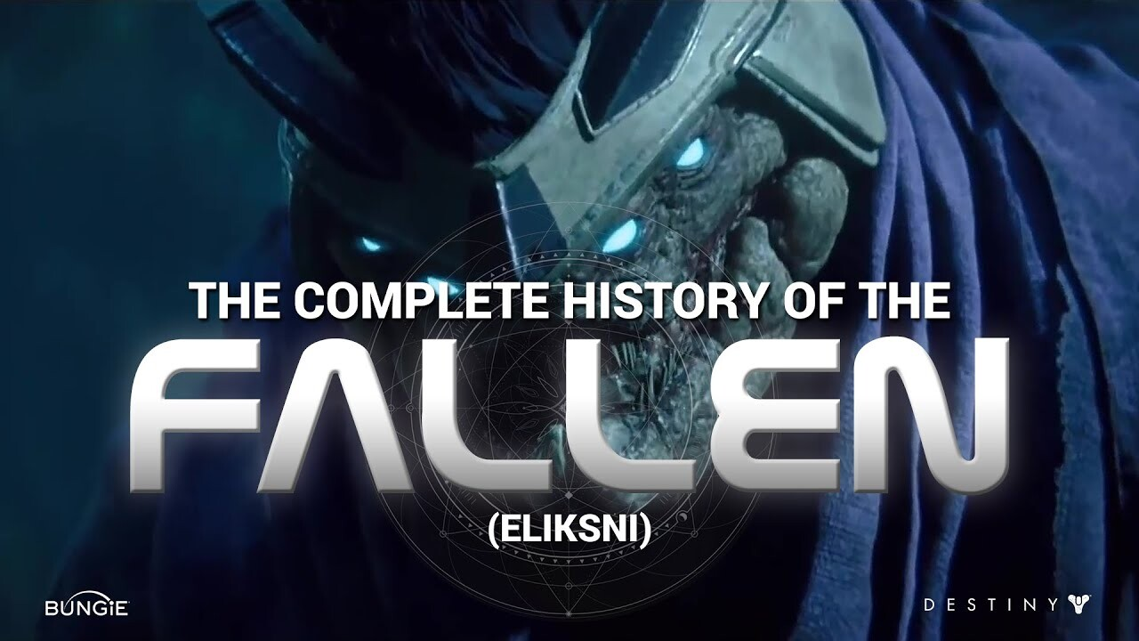 Destiny 2 - The Complete History of The Fallen