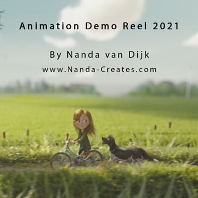 Animation Demo Reel 2021 by Nanda van Dijk