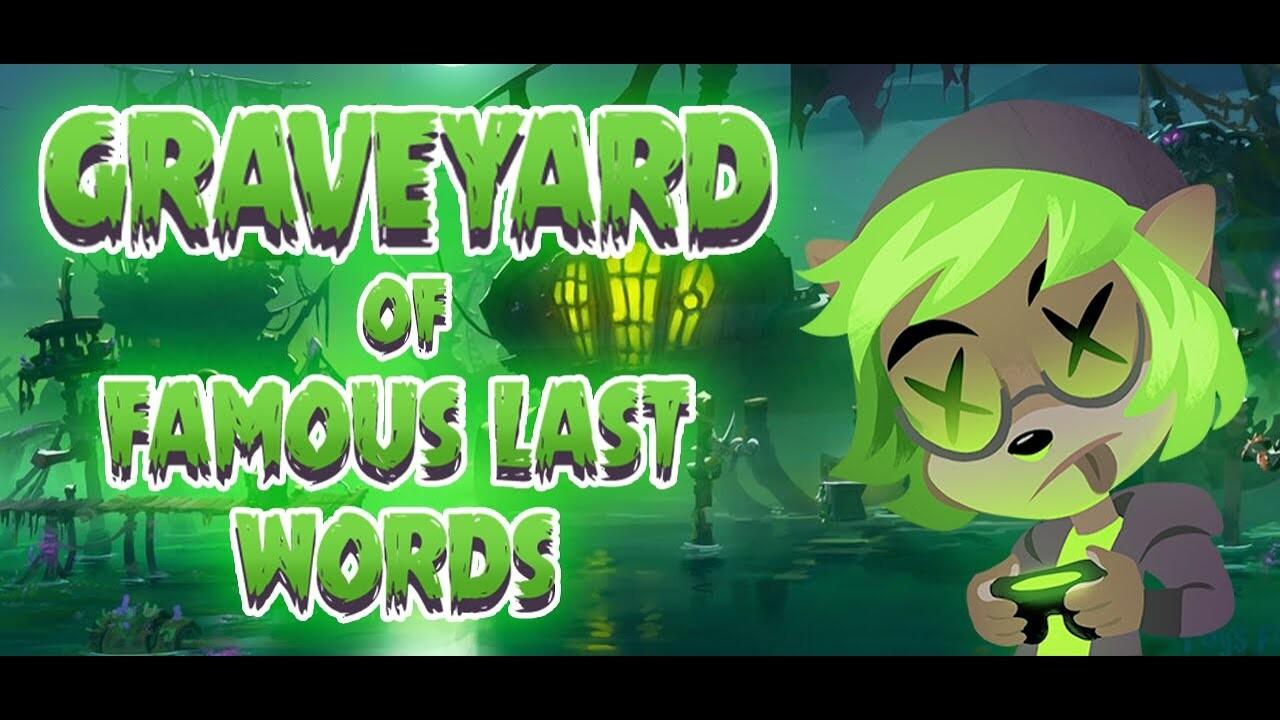 CRASH 4 - Graveyard of Famous Last Words