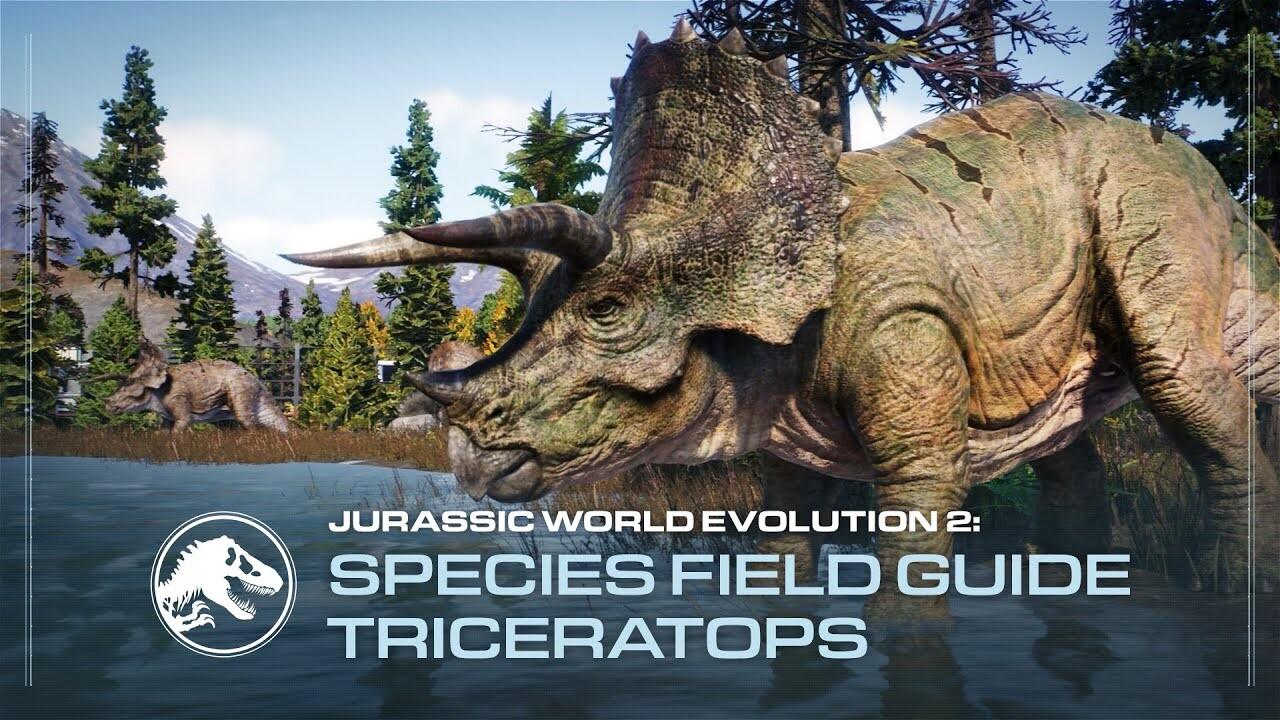 [Playlist] Jurassic World Evolution 2 - Species Field Guides (Game Capture)