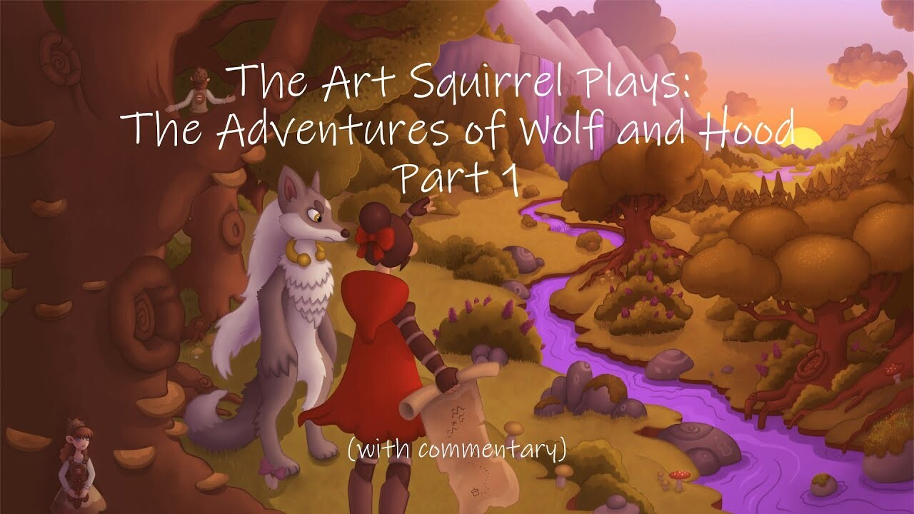 Sketches and Concepts for The Adventures of Wolf and Hood 1