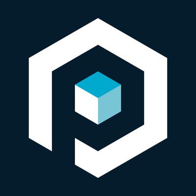 Poliigon icon inverted big