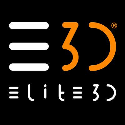 Elite3d logo 2letters artstation