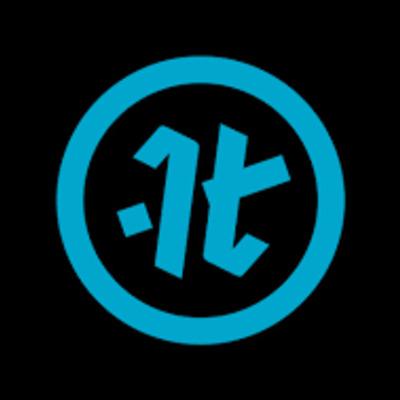 It logo black