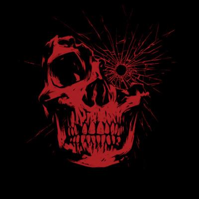 Romero games logo 2 skull 512x black