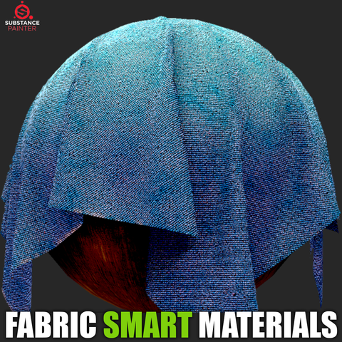 20 Fabric Smart Materials (Substance Painter)