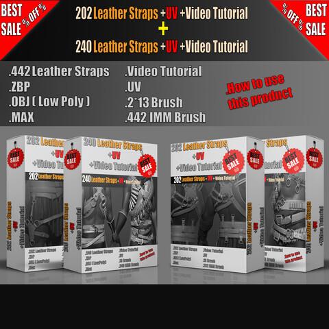 442 Leather Straps +UV+ Video Tutorial