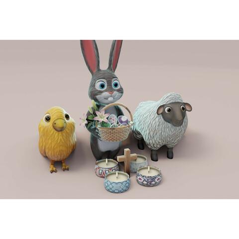 Easter Day 3D Model Bundle