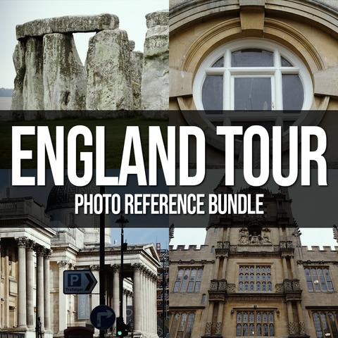 ENGLAND TOUR Photo Reference Bundle