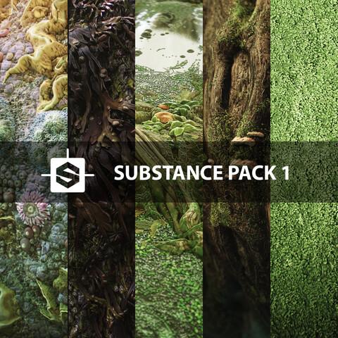 Substance Pack 1 - standard